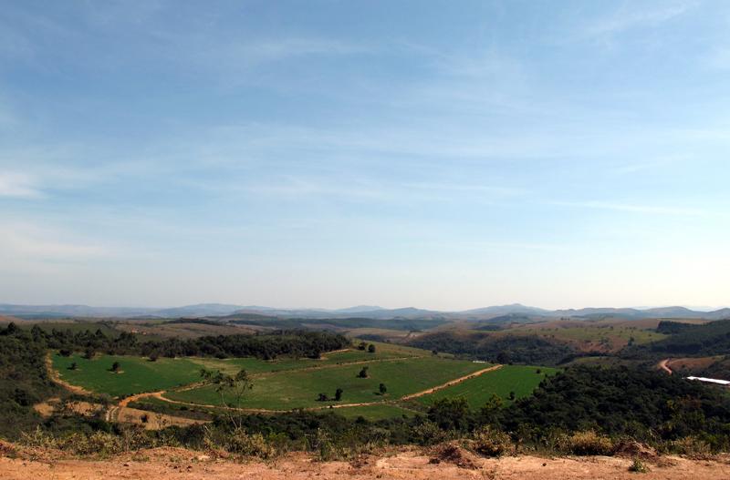 Vista da estradinha para Santa Rita do Ibitipoca