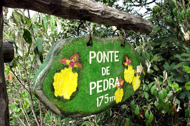 Ponte de Pedra no Parque do Ibitipoca