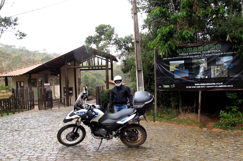 Entrada do Parque do Ibitipoca