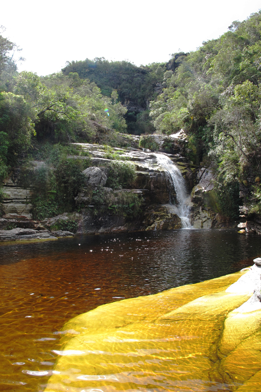 Cachoeira dos Macacos em Ibitipoca