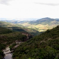 Vista do mirante indo pra Cachoeira dos Macacos