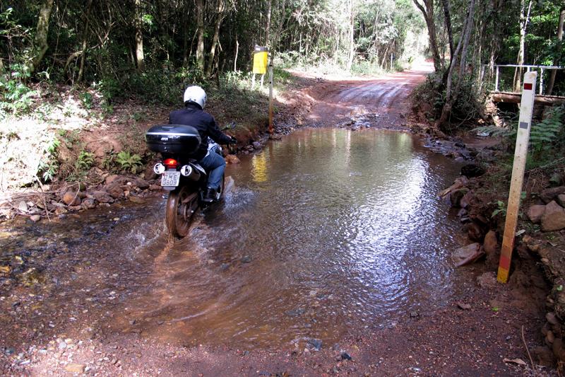 Estrada para Cachoeira de Santo Antônio