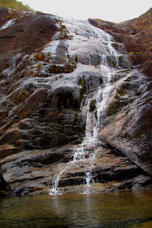 Cachoeira Bonita no Parque do Caparaó