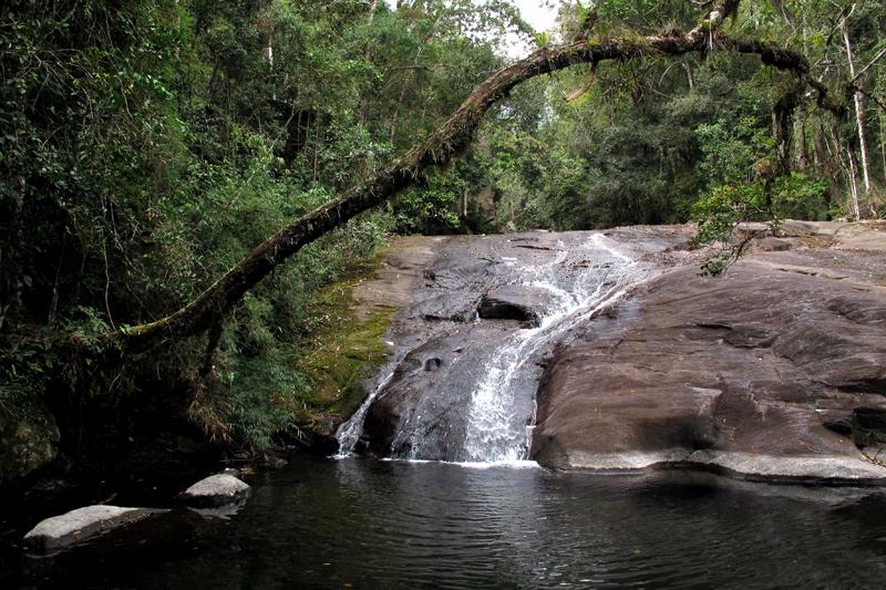 Cachoeira Vale Verde no Parque do Caparaó