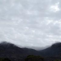 Vista da janela para a Serra do Espinhaço