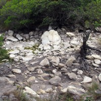 Córrego seco da cachoeira...