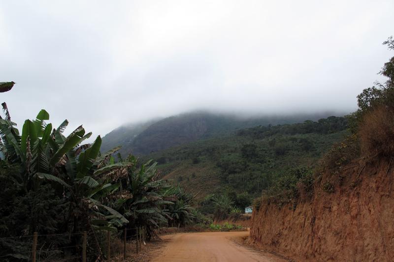 Estrada para Cachoeira das Andorinhas
