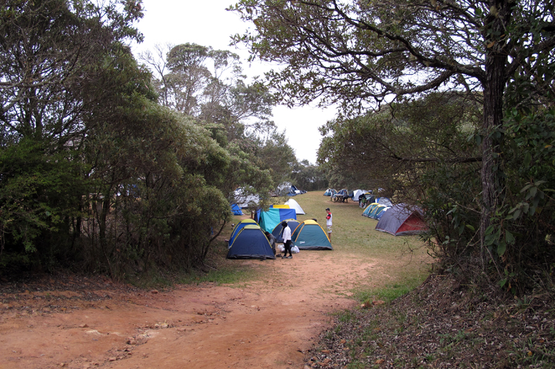 Acampamento na Tronqueira, no Parque do Caparaó