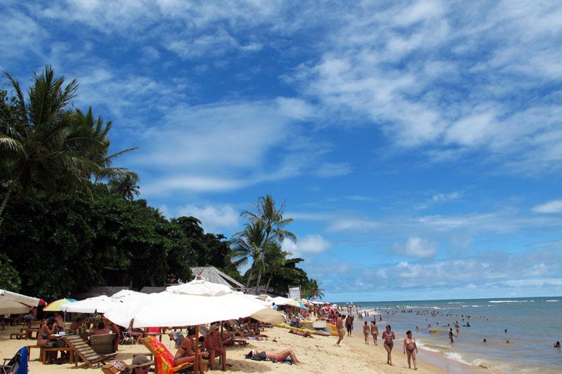 Praia de Pitinga em Arraial D'Ajuda