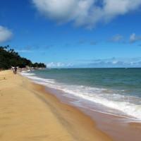 Águas mornas e calmas em Pitinga
