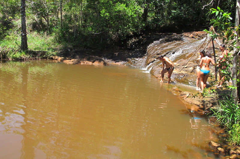 Lago na trilha pra Prainha
