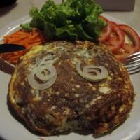 Omelete na creperia Tio Gu