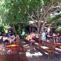 O restaurante em Sapinhos