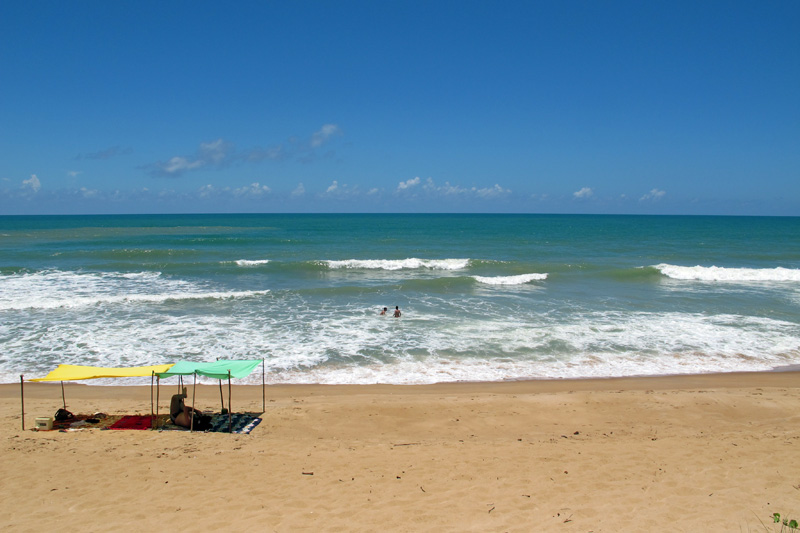 Praia em Dunas de Itaúnas