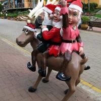 Decoração de Natal pela cidade