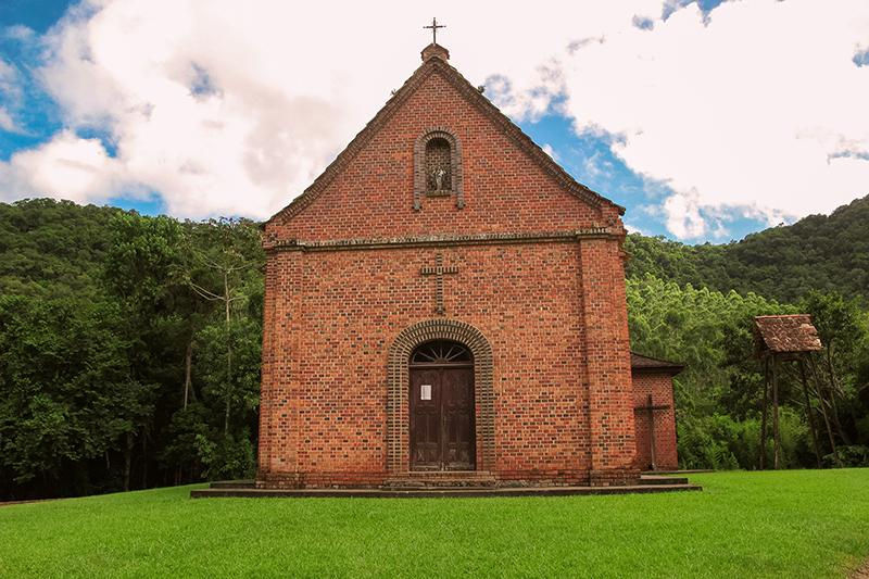 Igreja Alto Warnow de São João - Indaial Santa Catarina