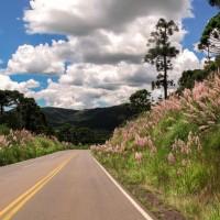 Estrada entre Urubici e Bom Jardim da Serra