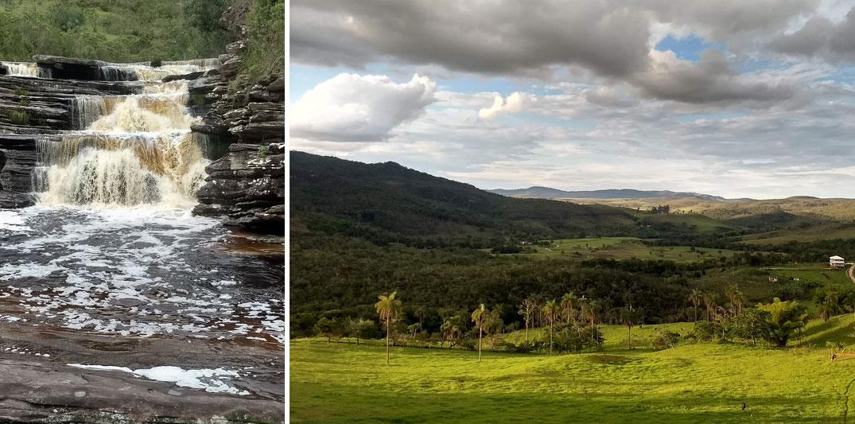 Lugares românticos perto de BH: Cabeça de Boi, cachoeira do Intancado