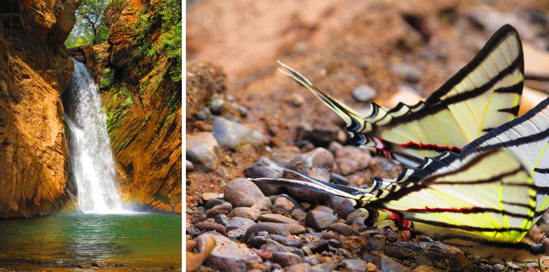 Lugares românticos perto de BH: Cachoeira Santo Antônio em morro vermelho.