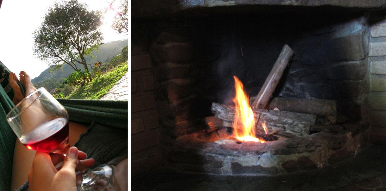 Lugares românticos perto de BH: Pousada no parque nacional do Ibitipoca, lareira e vinho