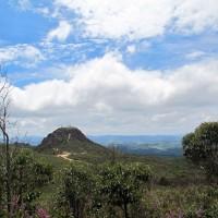 Caminho para a Capela do Senhor do Bonfim em Morro Redondo