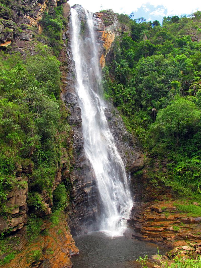 Cachoeira Alta, em Ipoema