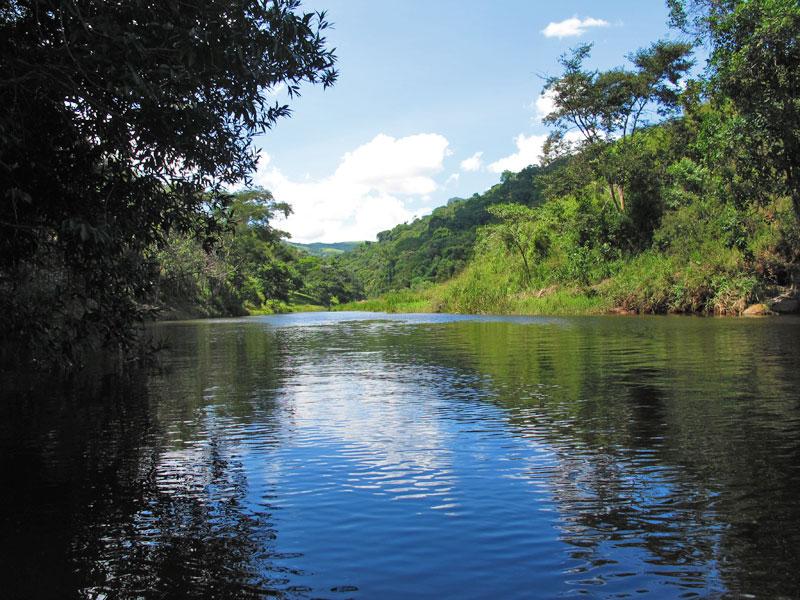 Cachoeira da Fazenda das Laranjeiras