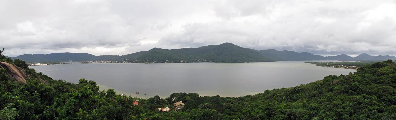 Mirante Ponto de Vista, na Barra da Lagoa
