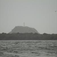 Vista do Farol, chegando na ilha