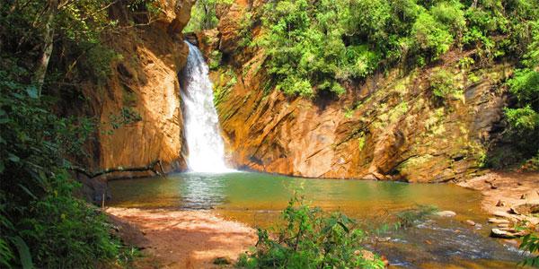 cidades perto de BH: Cachoeira Santo Antonio, em Raposos