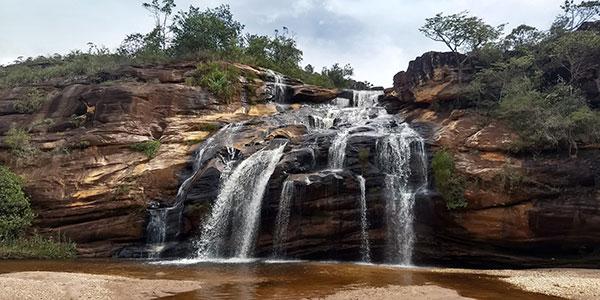 cidades perto de BH: Cachoeira da Serenata em Itambé do Mato Dentro