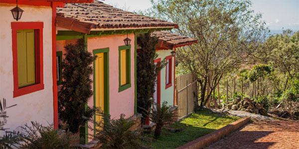 cidades perto de BH: Casinhas em Lavras Novas