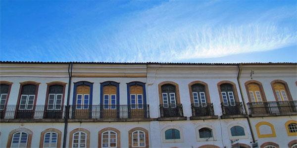 cidades perto de BH: Casas históricas em Ouro Preto