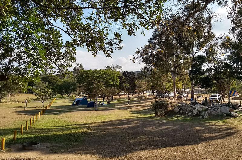 área de camping veu da noiva