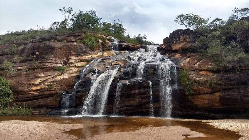 Cachoeira da Serenata em Itambé do Mato Dentro