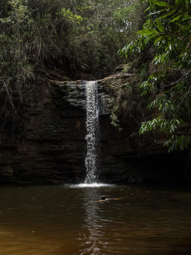 Cachoeira do Lúcio em Itambé do Mato Dentro