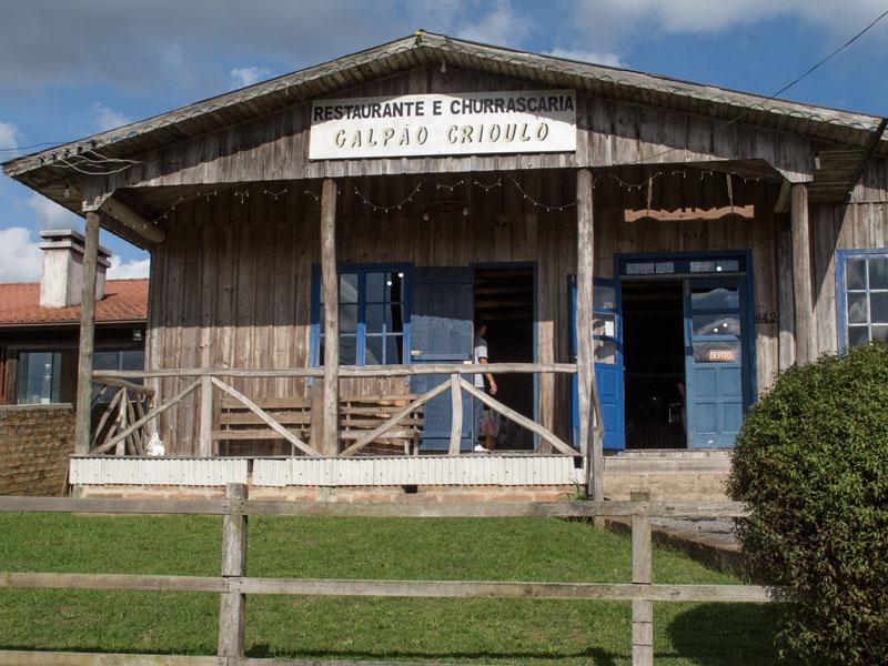 Galpão do Criolo em Cambará do Sul