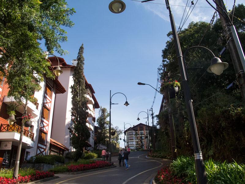Rua em Gramado
